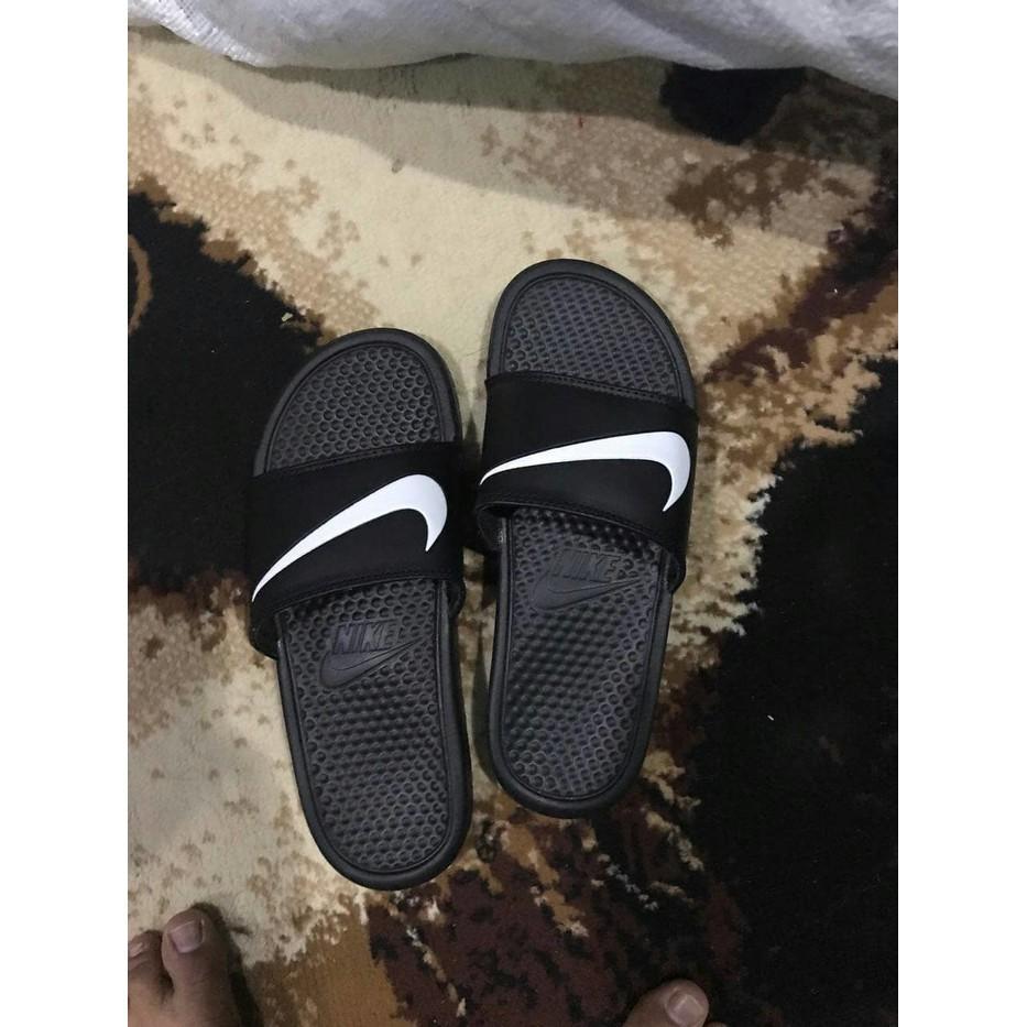 Sandal Original Nike Benassi Swoosh / Sendal Flip Flop Nike Swoosh - Cxx6ns