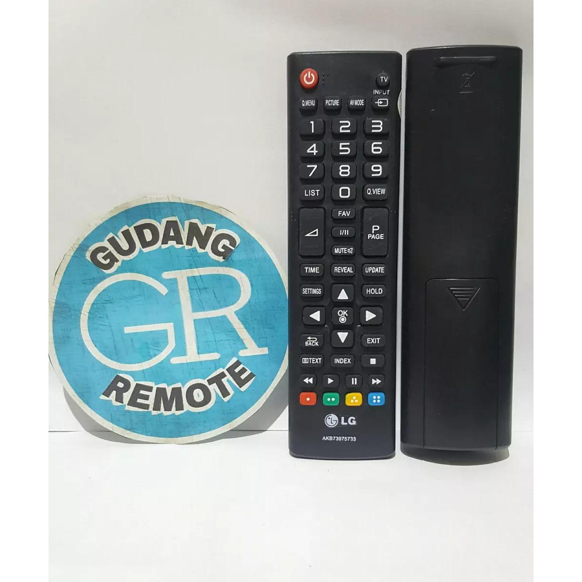 TERLARIS Remote TV LG Tabung/LCD/LED TOKO RISBAS