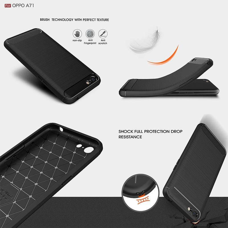 Armor Carbon TPU Case Oppo A71 (2018)