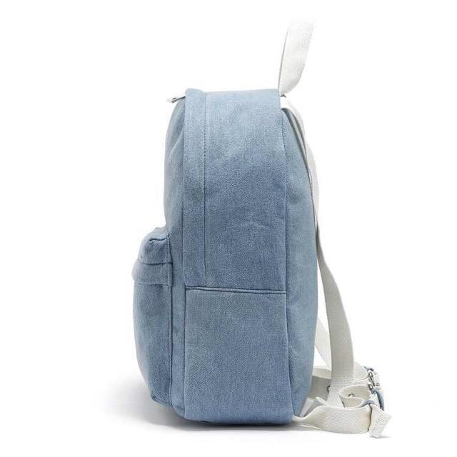 ... Tas Backpack Fashion Branded FOREVER 21 Jeans - Tas Ransel Wanita - Tas Branded - Tas ...