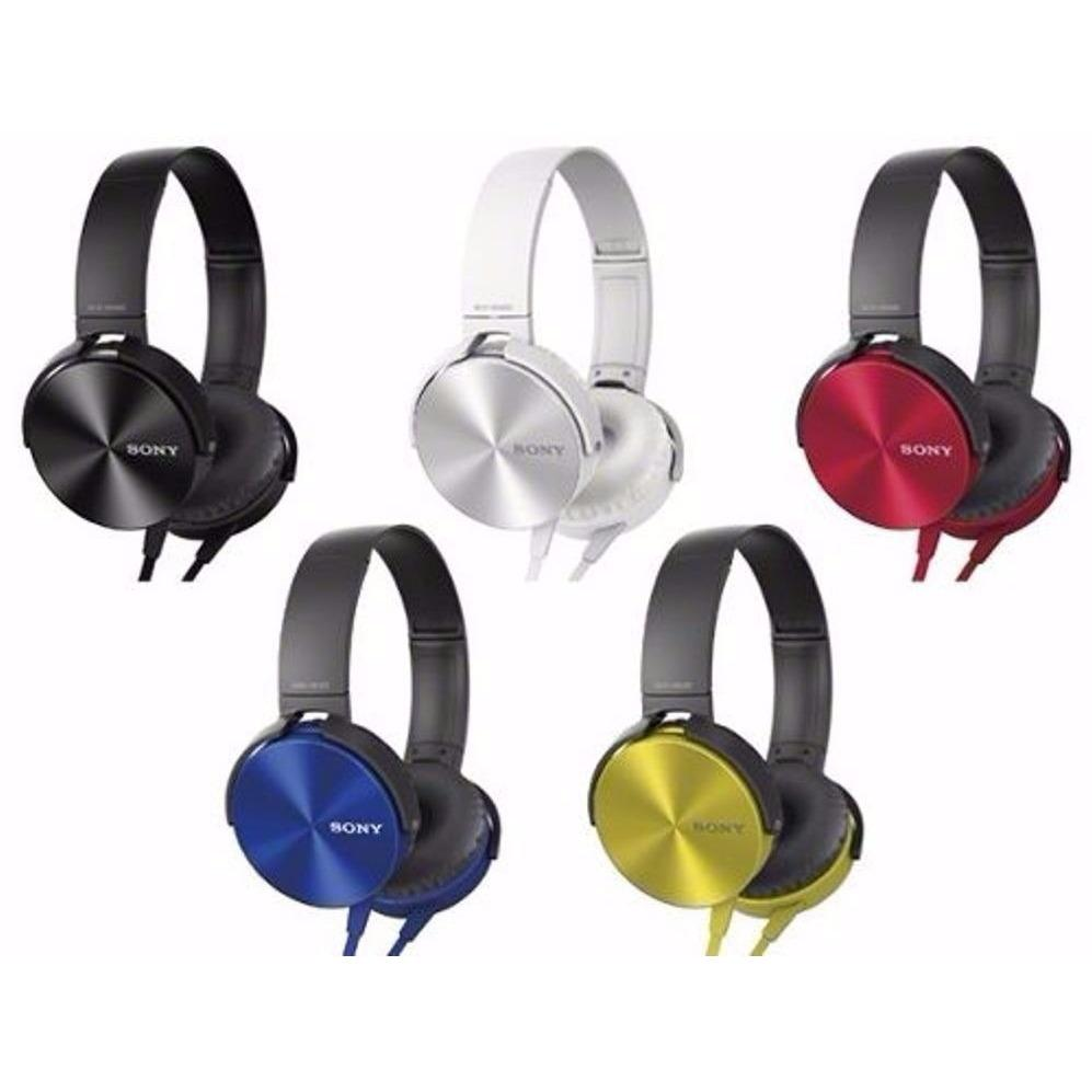 Headphone Sony Extra Bass MDR-XB450AP Hands free Phone Calls