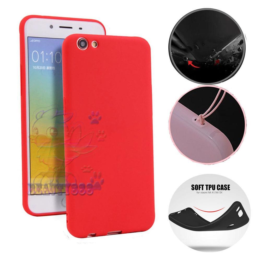 Lize Case Oppo A71 Rubber Silicone Anti Glare Skin Back Case / Silikon Oppo A71 /