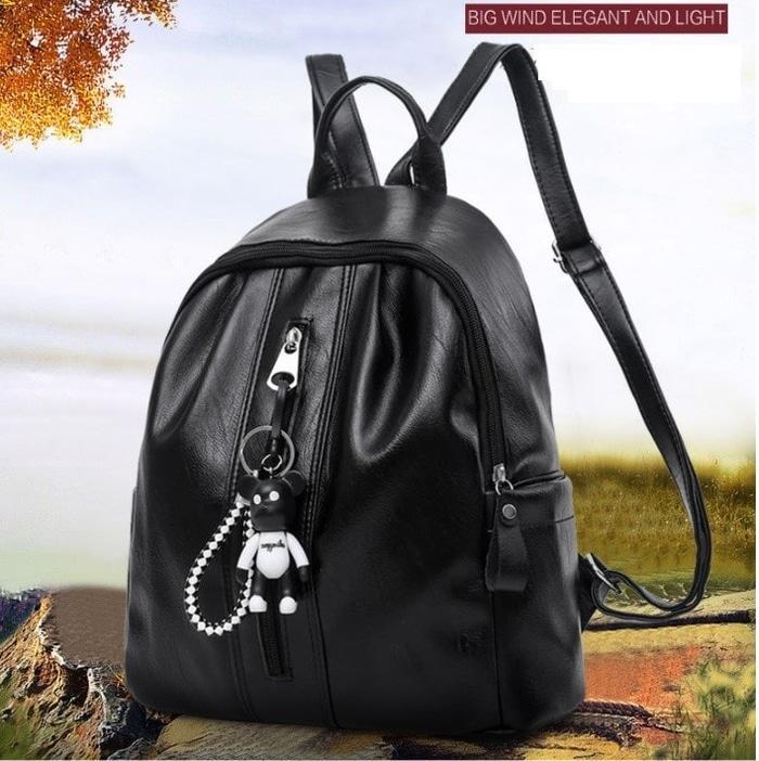 Tas Ransel / Backpack Punggung Wanita Remaja Import Kulit Korean Style CS -BW33