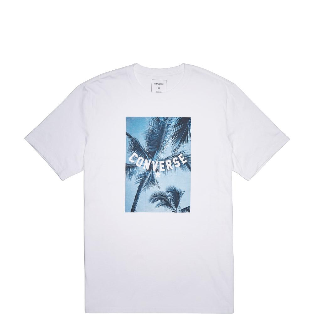 [SALE] CONVERSE PALM TREE PHOTO TEE-PUTIH CON005906A01