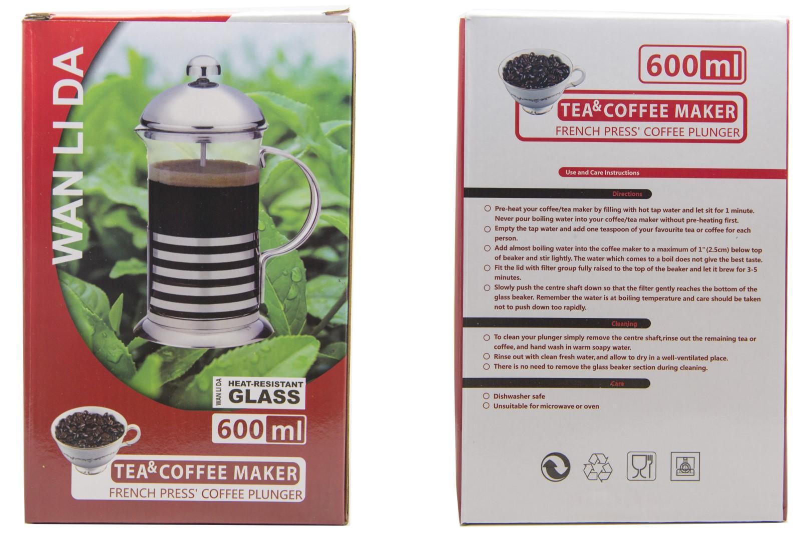 Features French Press Tea Coffee Plunger Stainless 600 Ml Wld600 Dan Best Saringan Kopi Teh 3