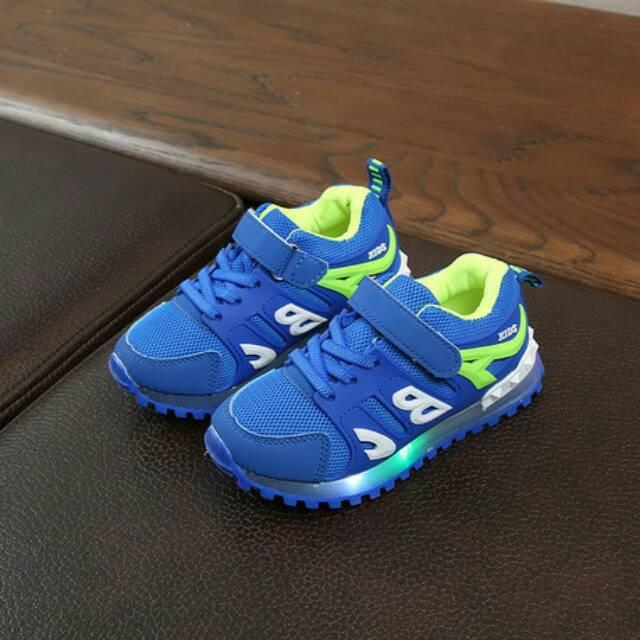 21-25 Sepatu Anak Thunder ABC Sneaker LED - 2