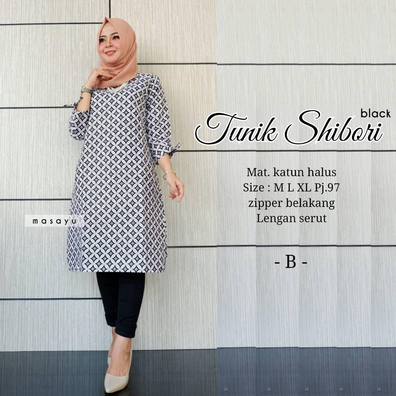 Review Haha Boutique Batik Solo Tunik Tatoo Serut Motif Tato Model