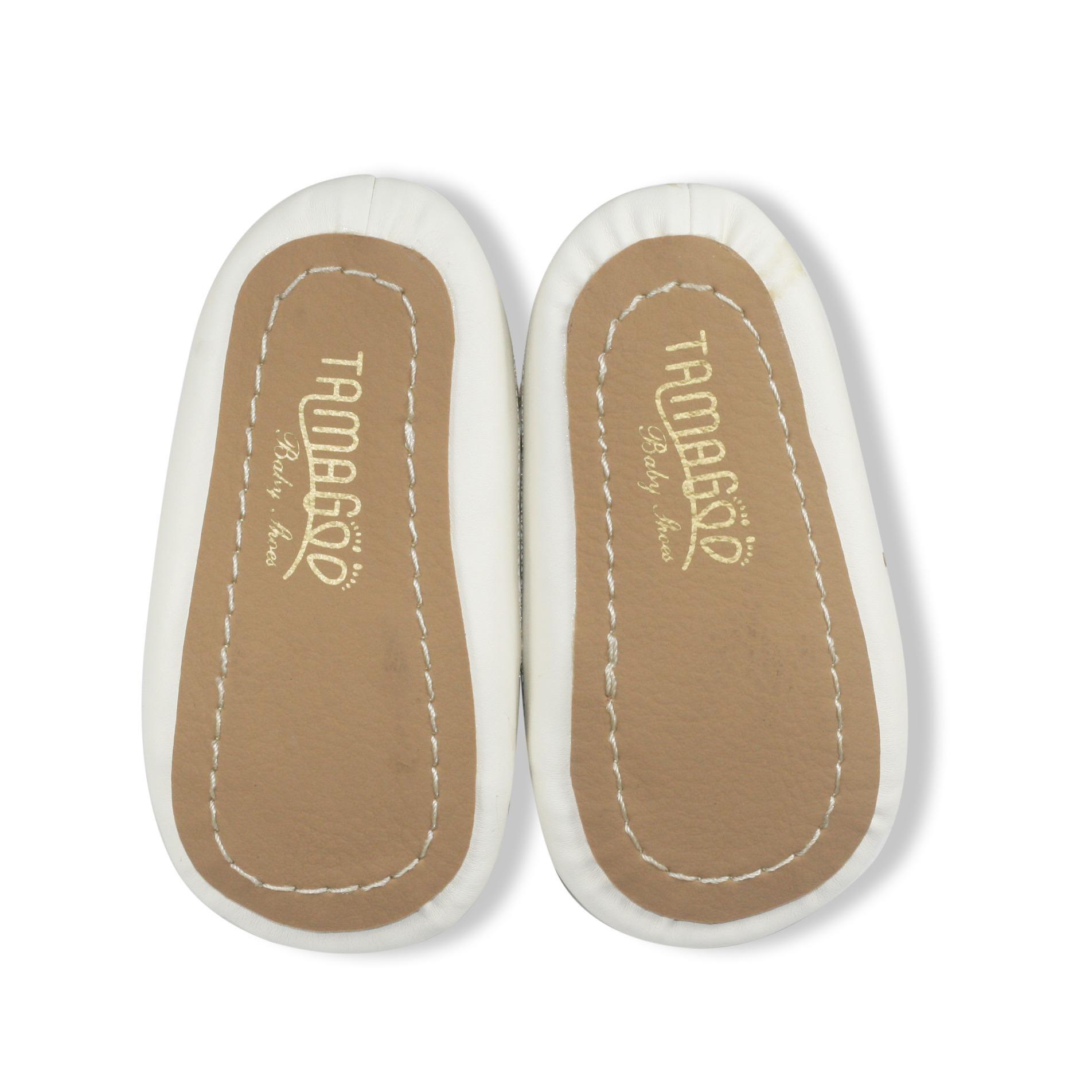 Tamagoo Sepatu Bayi Laki Baby Shoes Prewalker Peter Brown Alex Series  3 6 Bulan Abu Muda