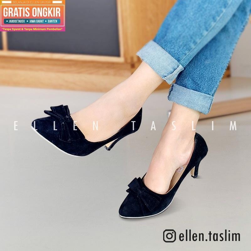 Ellen Taslim High Heels Pantofel Chunky Heels Gav 01 - Daftar Harga ... 8d44b9efc6