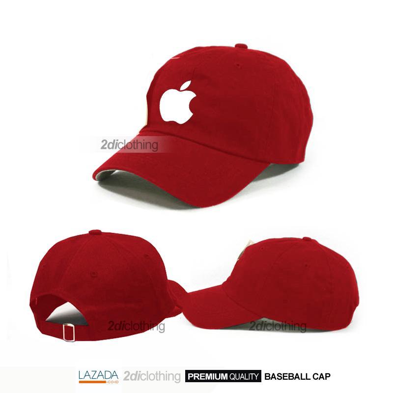 Diskon Besar Topi Baseball Apple Topi Fashion Casual Reviews Lengkap ... d6c278dbd5