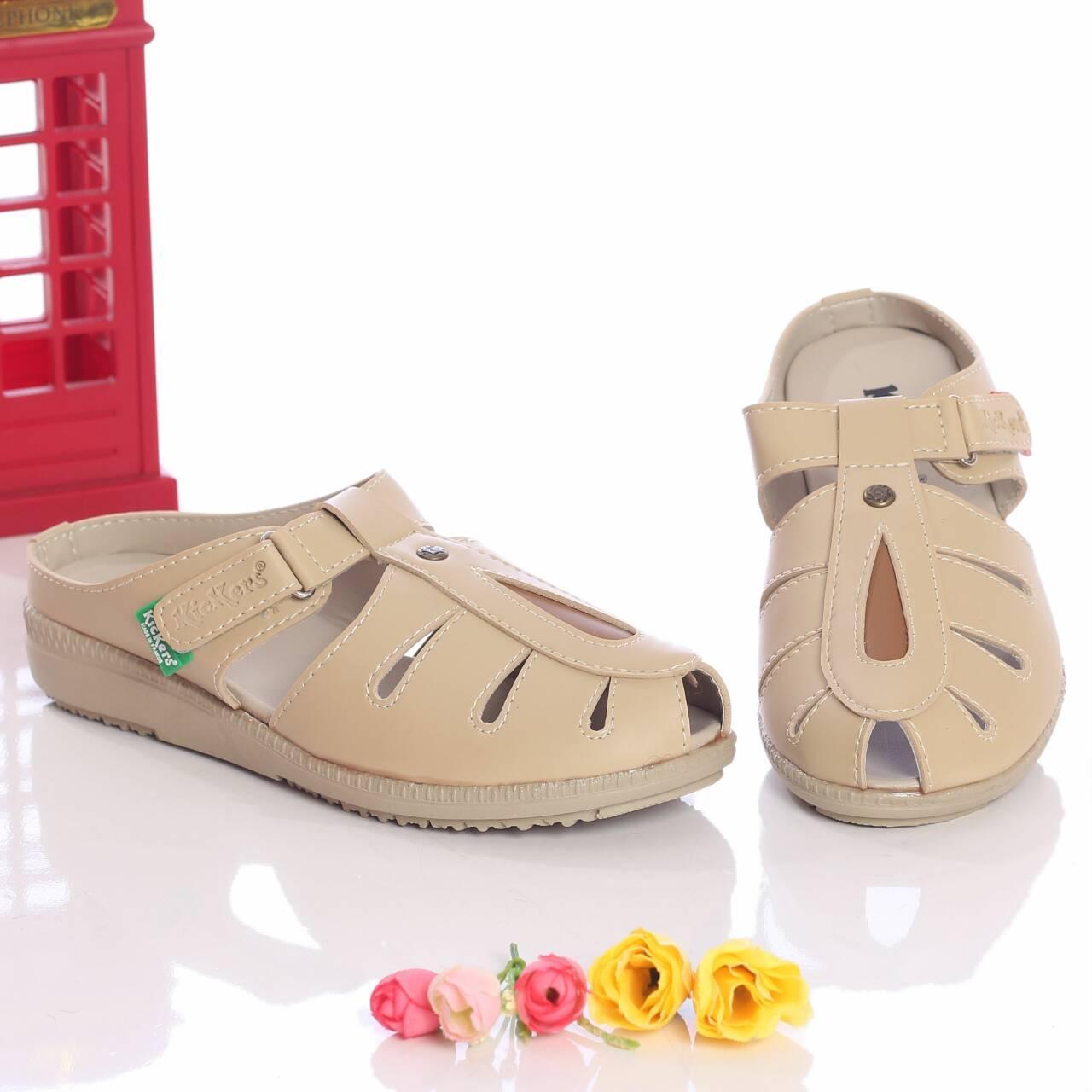 Garsel L620 Sepatu Formal Kerja Heels Wanita Kulit Premium Menawan Mikaela High Shoes Des Mestizo Kaiser Hitam