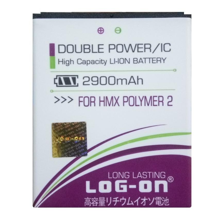 Beli Log On Baterai Himax Polymer 2 Double Power Battery 2900 Mah Terbaru