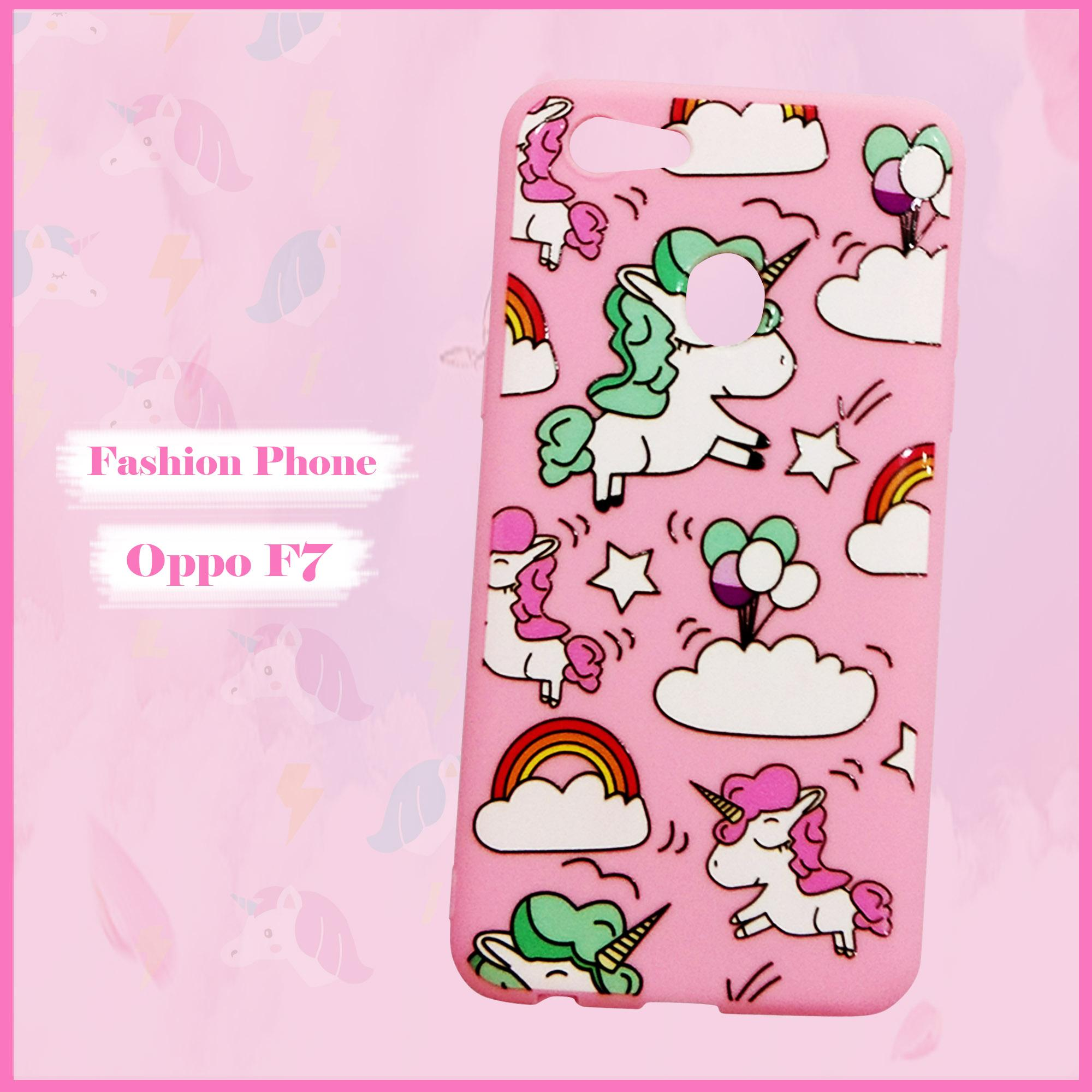 Softcase Cute Fashion Phone Case New Oppo F7