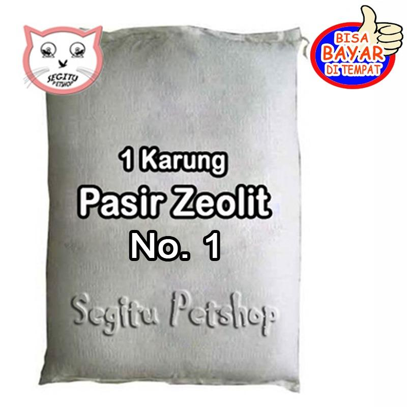 PASIR KUCING HAMSTER ZEOLIT NOMOR 1 - 1 KARUNG