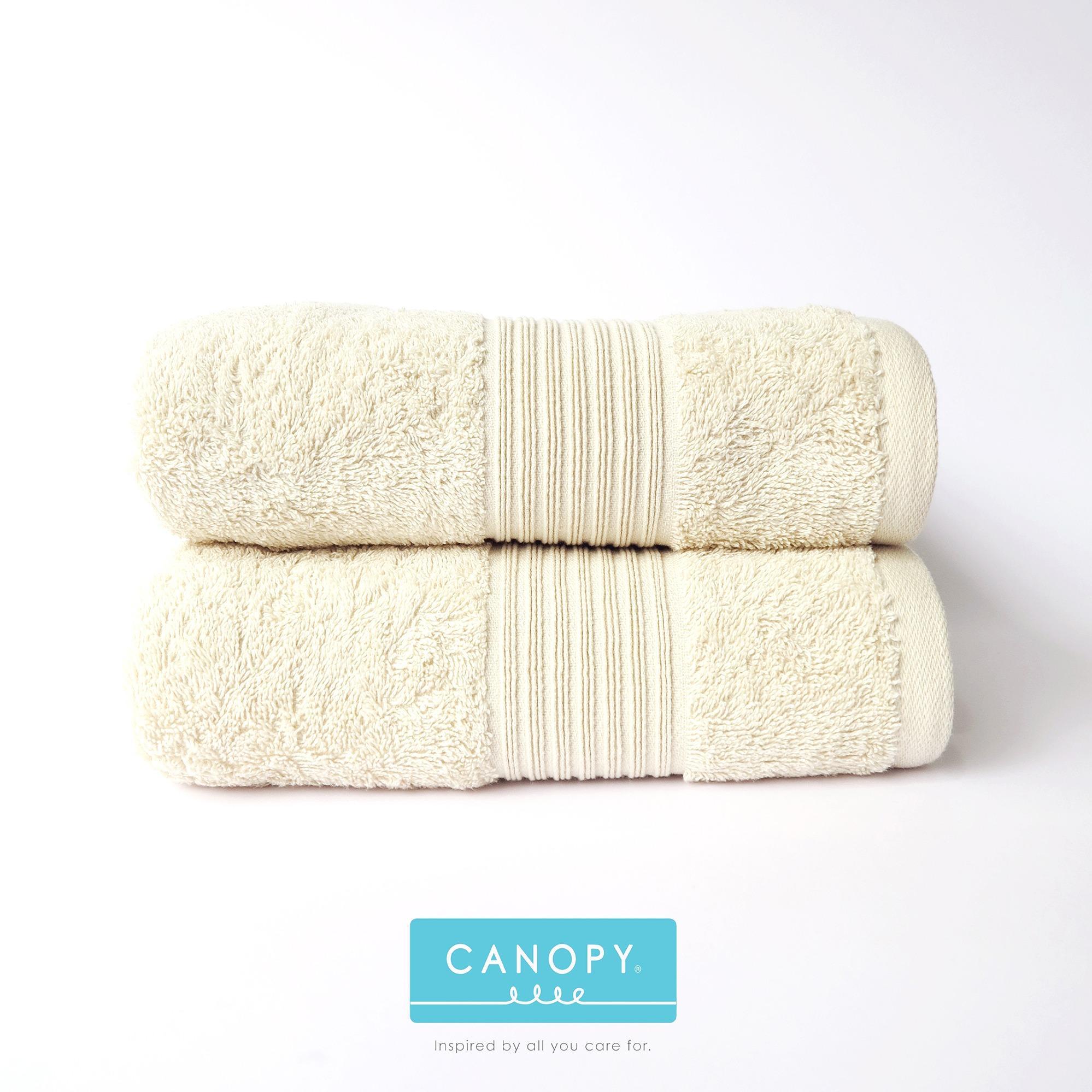 Iklan 2 Pcs Handuk Mandi Bath Towel Canopy Jade 70Cmx138Cm