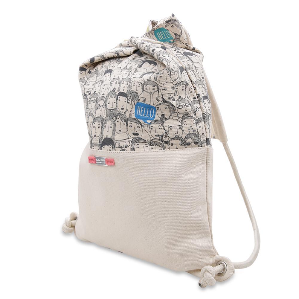 Detail Gambar Exsport Lit Drawstring Bag - Cream Terbaru