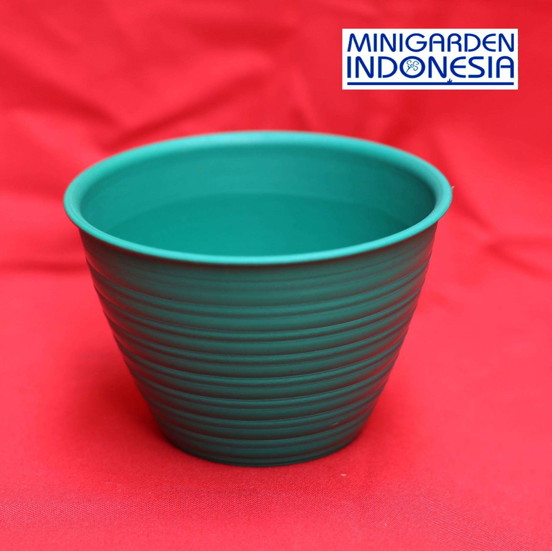Pot Bunga Tawon Diameter 24 cm Warna Pot tanaman Bunga Plastik semai benih
