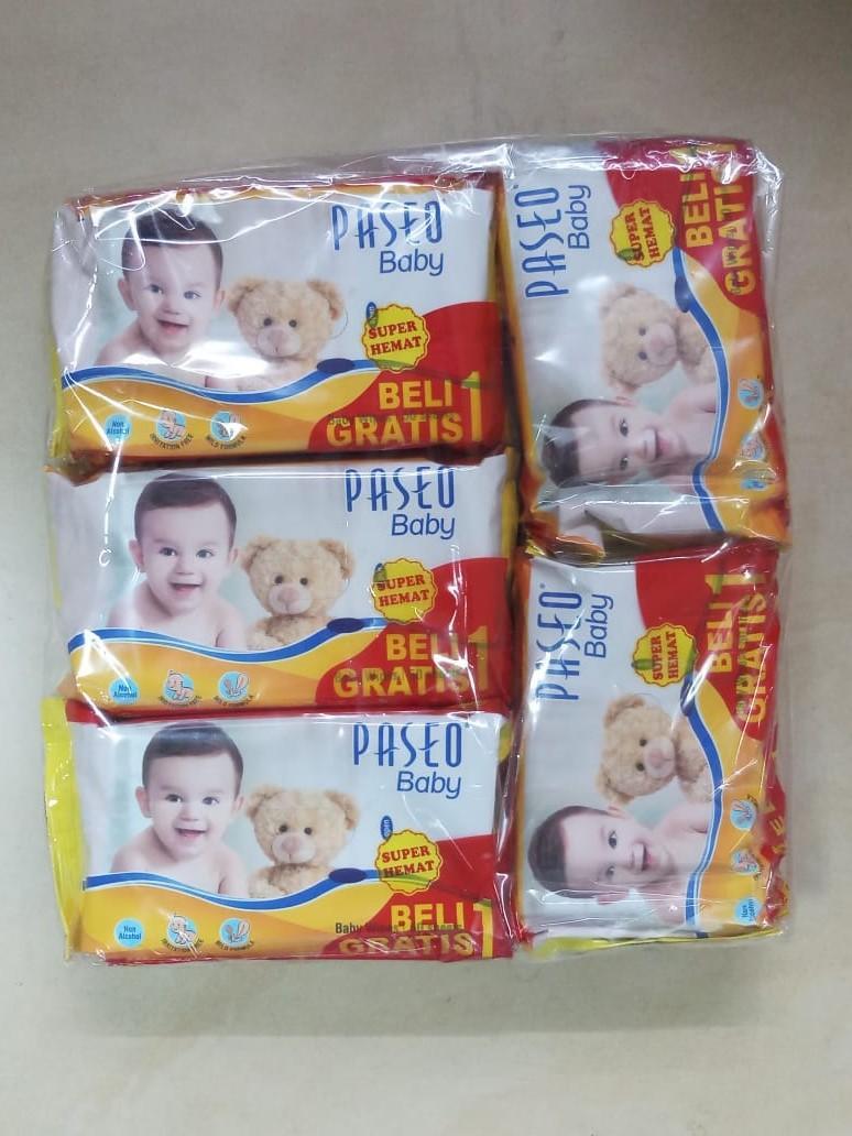 Kelebihan Paket Isi 5 Tissue Basah Sweety Non Parfum Terkini Pack Beli 1 Gratis Paseo Baby Wipes Original Tisu