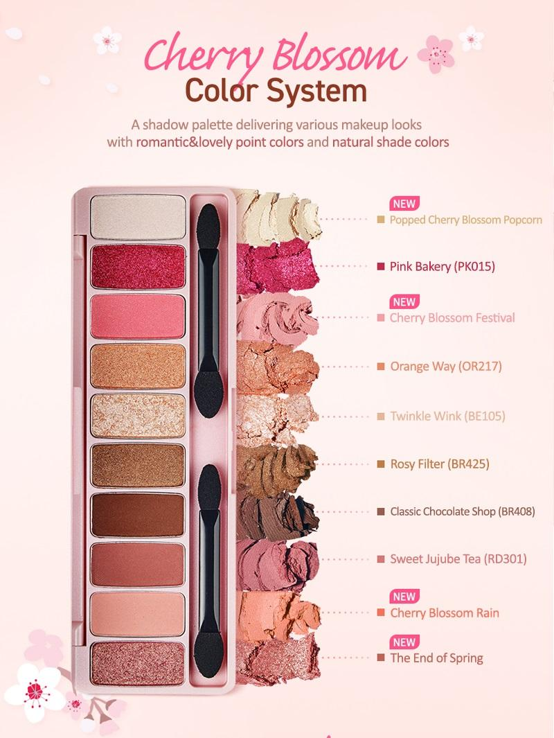 Detail Gambar Mesh Etd House CHERRY BLOSSOM Play Color Eyes Eyeshadow Palette - Eye Shadow Terbaru