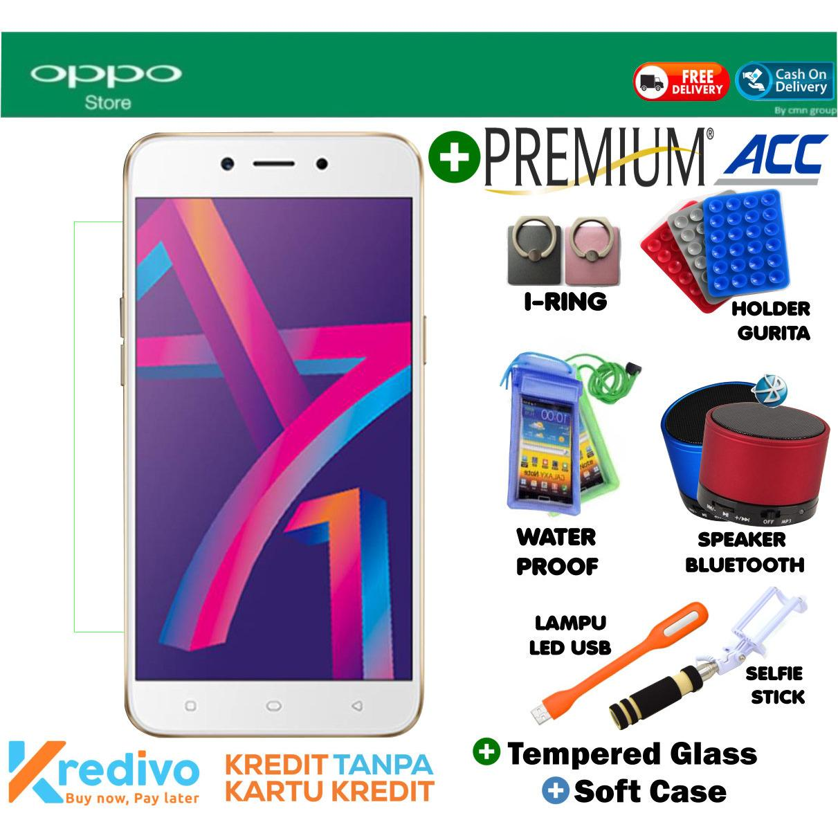 Oppo A71 2018 3/32 GB - Plus Premuim Accecories Menarik