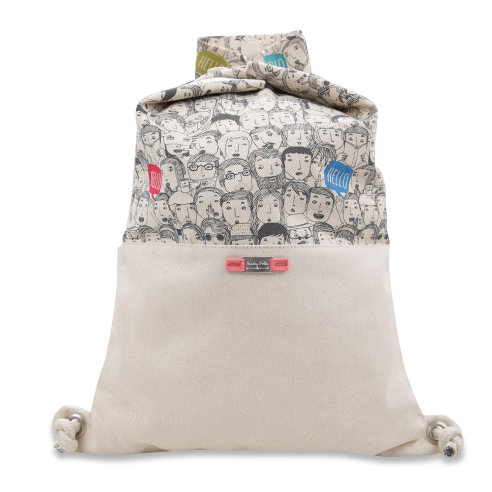 Exsport Lit Drawstring Bag - Cream