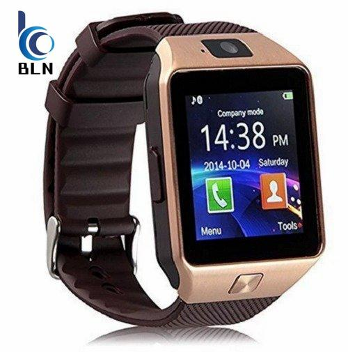 Jual Dz09 Bluetooth Smart Watch Wrist Watch Sim Call Reminder Phone Mate Gold Intl