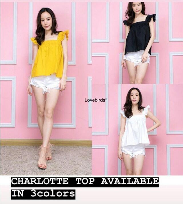 FJCO BC- Charlotte Top / Blus wanita / Atasan wanita / Fashion wanita