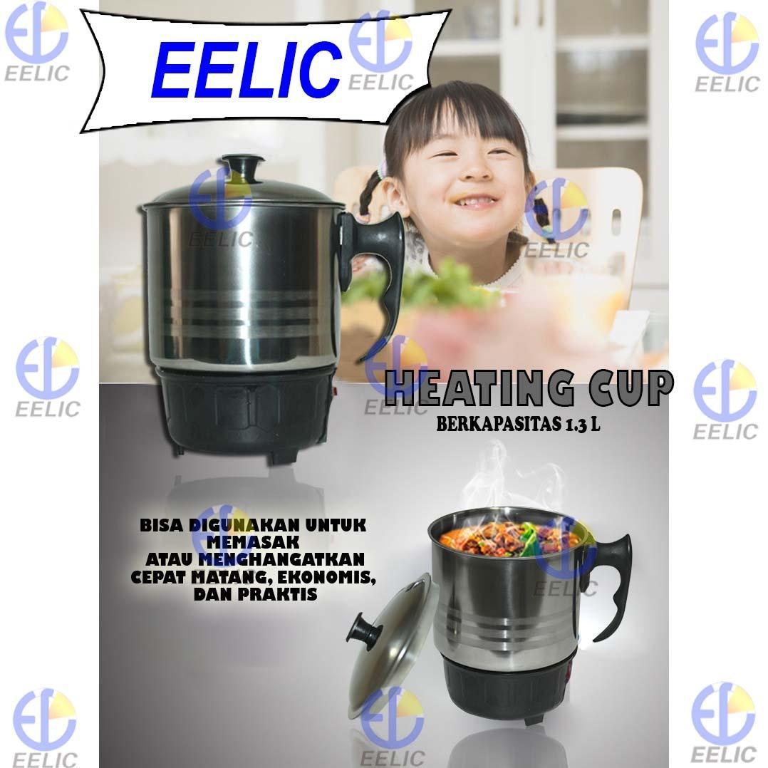 Cek Harga Baru Eelic Mug Q2 8014 Heating Cup Pemanas Listrik Electric 11cm Teko Panci Gelas Stainless Steel