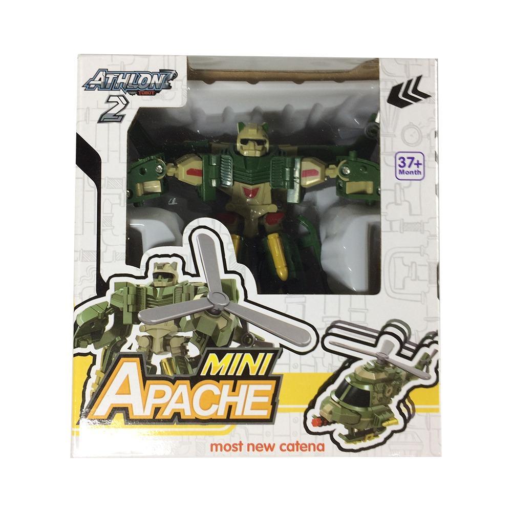 Jual Beli Online Mainan Robot Tobot Athlon 2 Mini Apache 2 Mode Robot Dan Helicopter