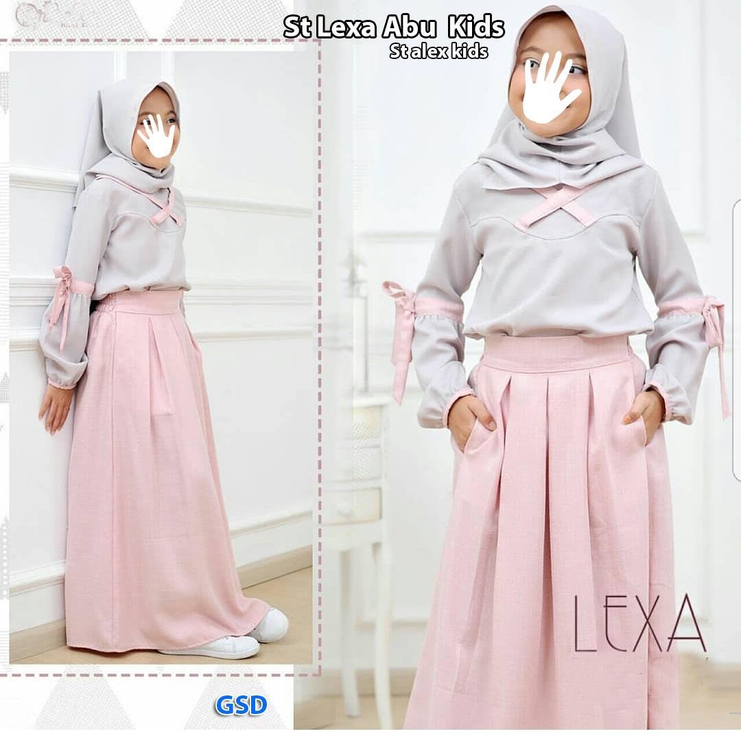 NCR-Baju Anak Cewek/ Baju Muslim Anak Cewek/ Setelan Muslim Anak Cewek/