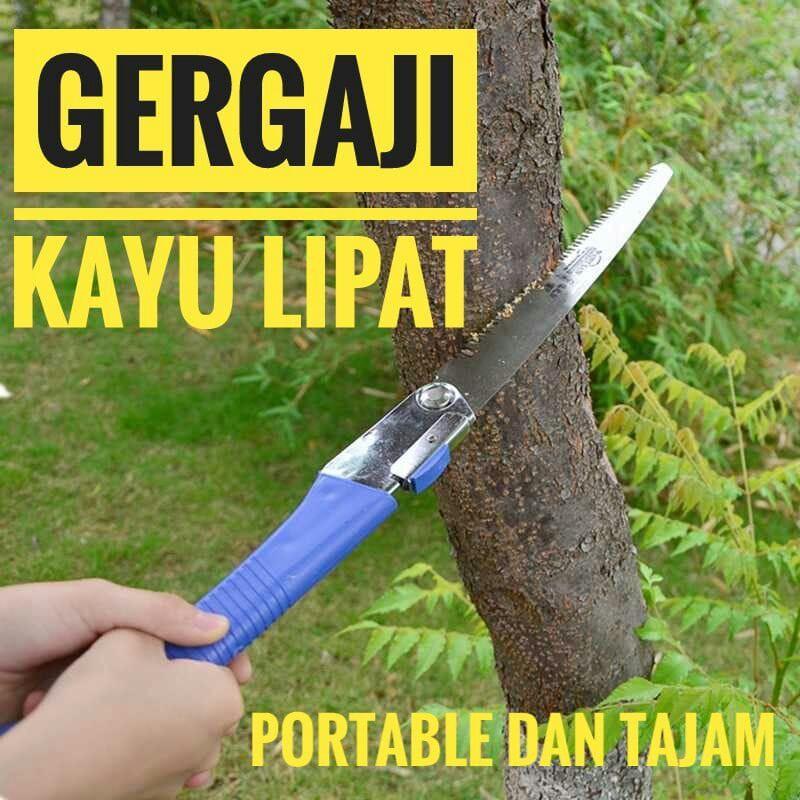 Gergaji Kayu Portable Lipat Serbaguna Untuk Kayu Pohon Dahan Dll