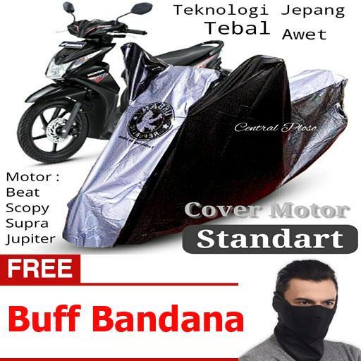 Central Ploso Cover Motor Vario / Cover Motor Beat / Cover Motor Matic / Cover Motor Jupiter / Pelindung Sepeda Motor / Sarung Motor