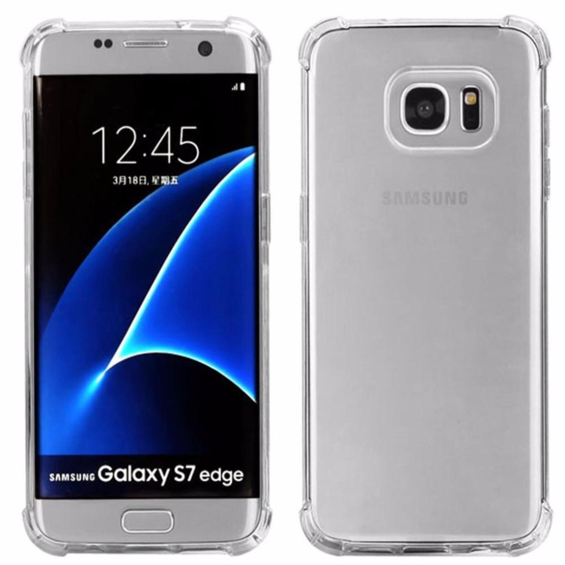 Cek Harga Baru Tpu Edge Samsung Galaxy S8 Plus G955 Duos Lte Anti Gores Shock Screen Protector S7 Full Depanbelakang Shockcase For G935 4g Premium