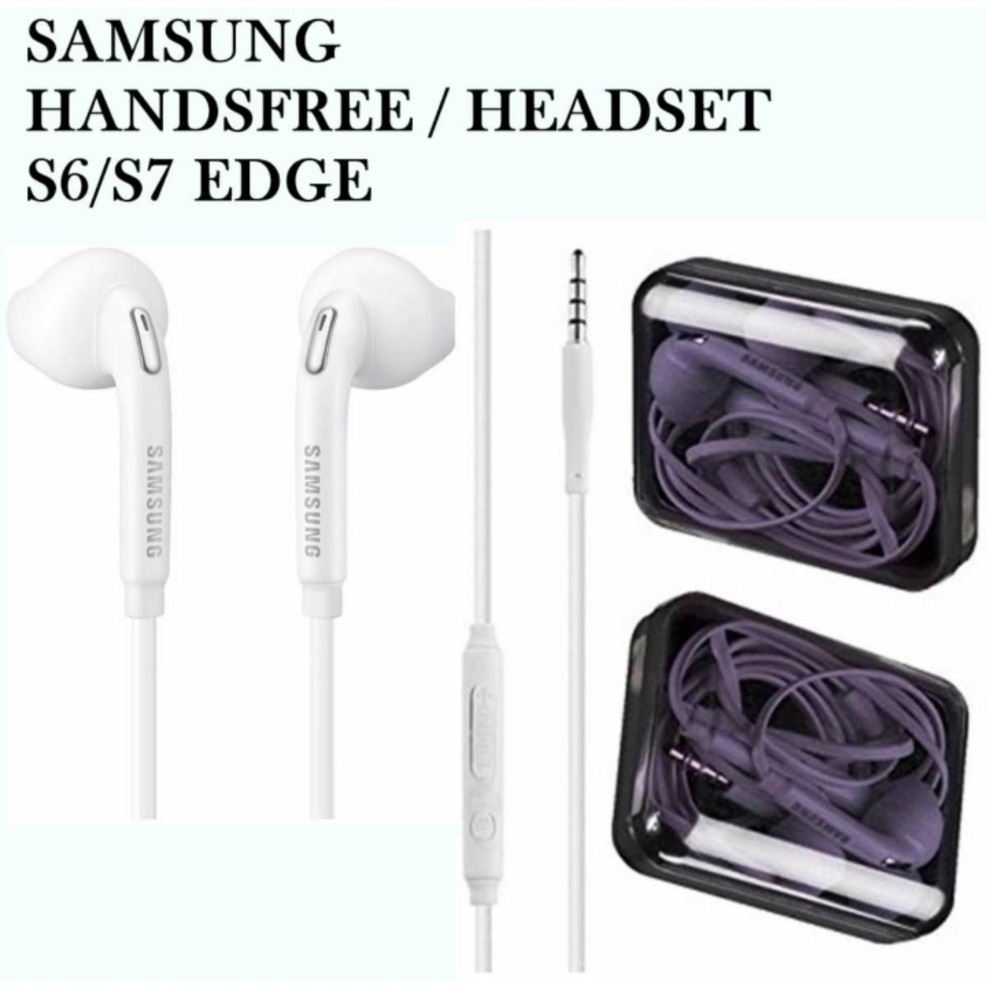 Samsung Ig 935 In Ear Headset Hansfree Audio Voice Hd Suported All Stereo Hs330 Putih Earphone Handsfree For Galaxy S6 S7 Edge Original