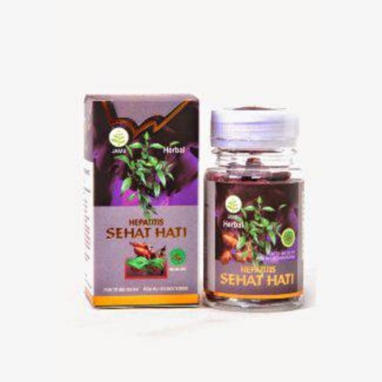 Kapsul Hepatitis Sehat Hati Sekar Bumi - Obat Herbal penderita Hepatitis baik A, B, C serta jenis lainnya