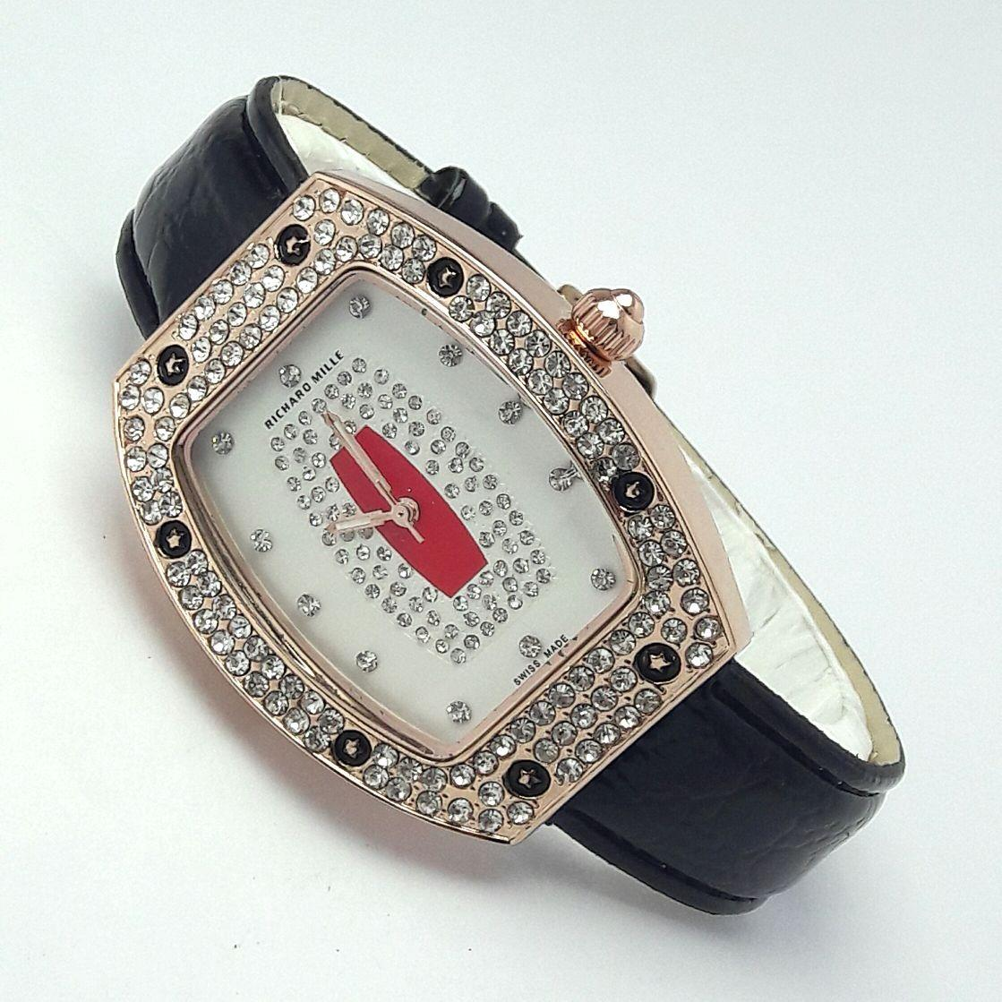 Richard Mile Jam Tangan Wanita Fashion Leather Strap Elegant Classic LIMITED EDITION