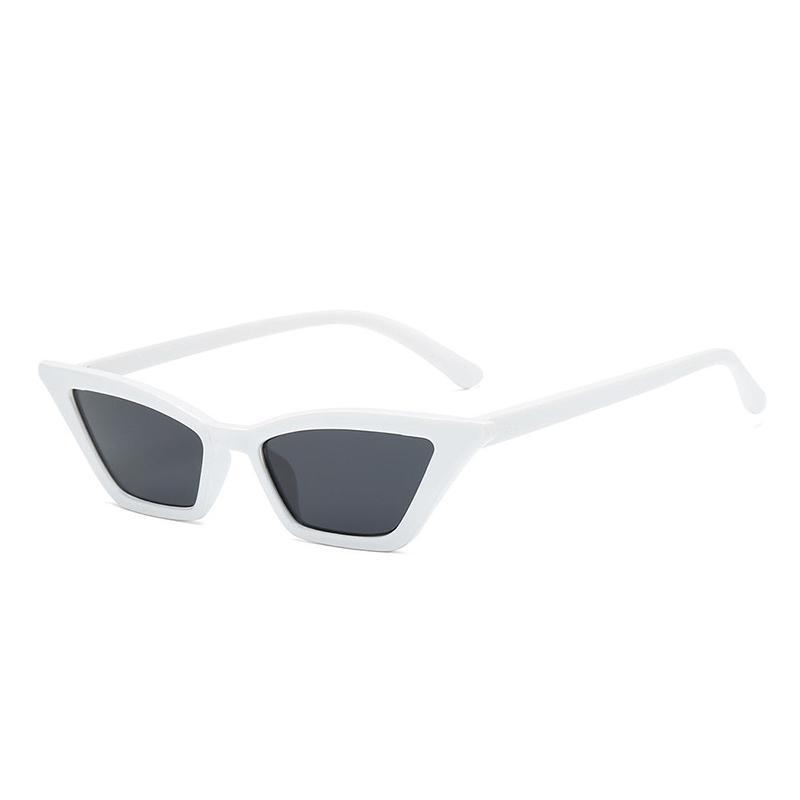 ... Modis Kecil Bingkai Kacamata Hitam Mata Kucing Luar Ruangan Wanita  Olahraga Perjalanan Kacamata Kacamata - 4 ... 3a8c72824a
