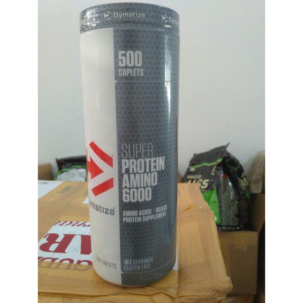 Beli Dymatize Nutrition Super Amino 6000 Eceran 50 Tabs Dengan Kartu Kredit