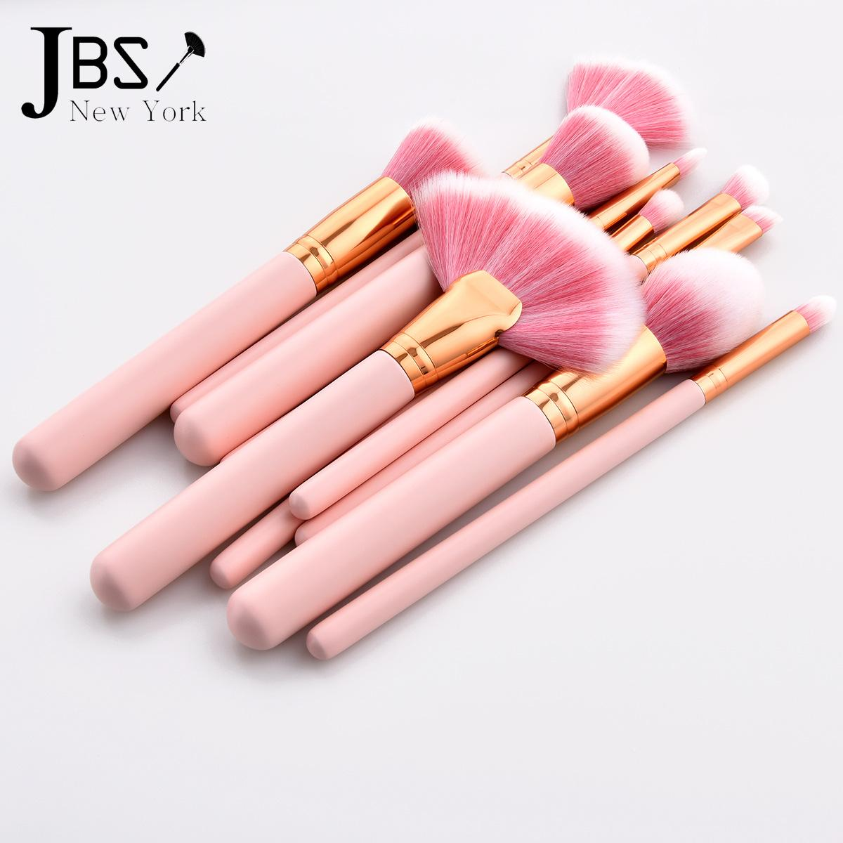Kelebihan Jbs New York Makeup Brush 10pcs Tools Set Fan Kuas Mermaid K 037 038 Detail Gambar 058 Terbaru