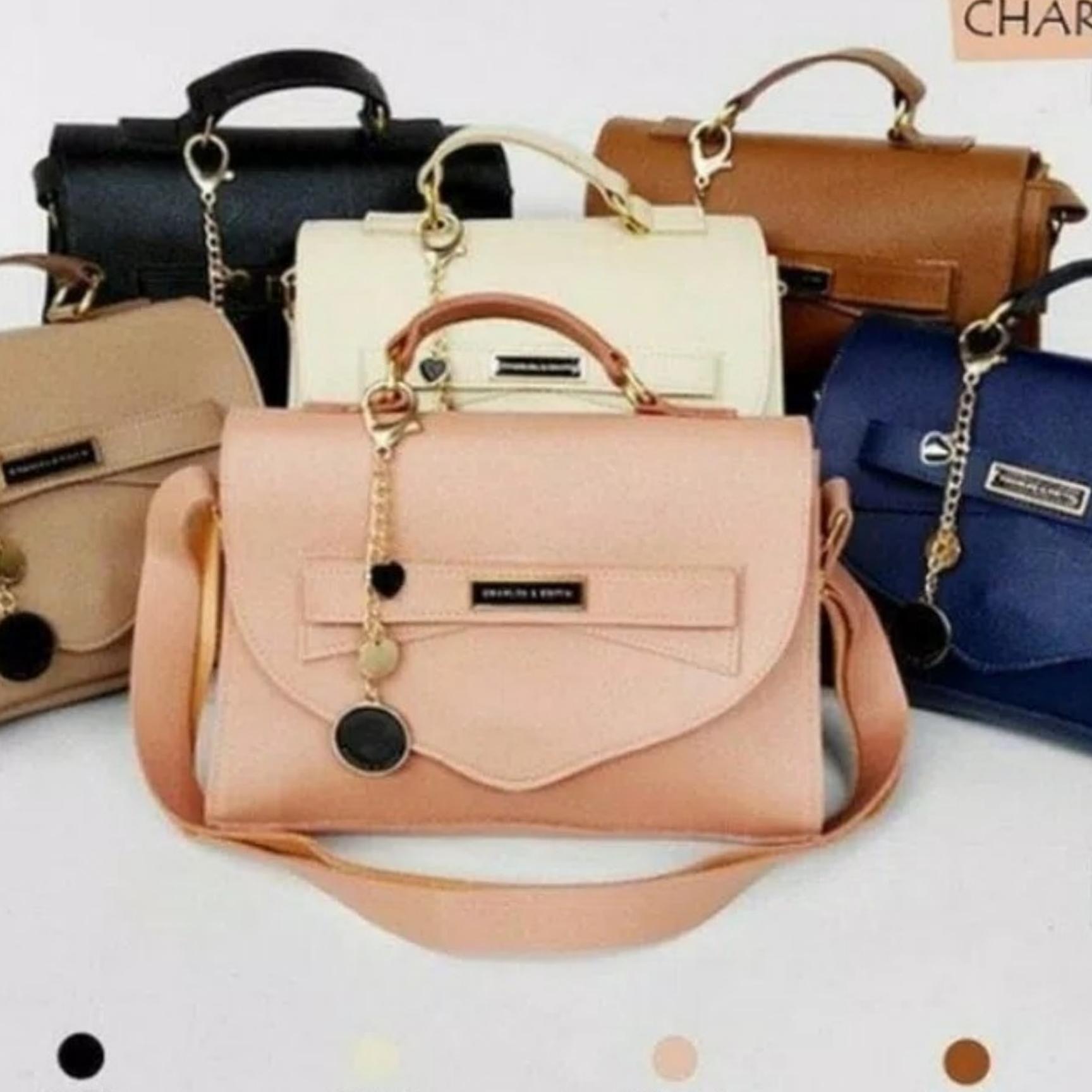 Tas Selempang Wanita Sling Bag C&K Ribbon Mini / Khisan Store