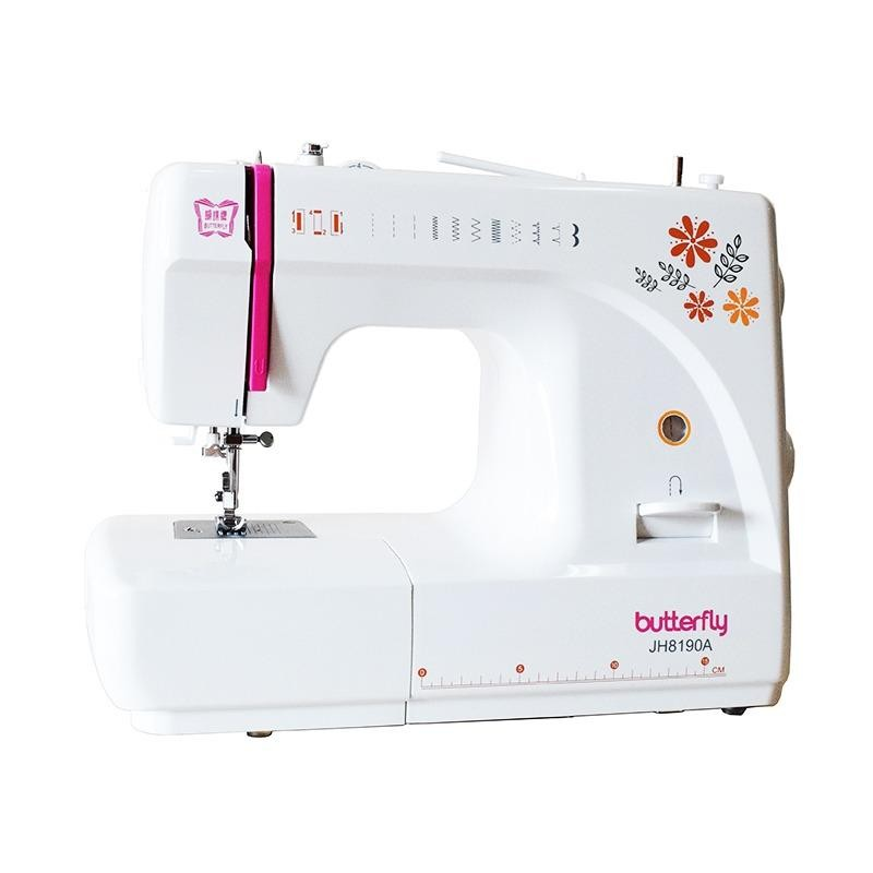 Kualitas Butterfly Jh 8190A Mesin Jahit Portable Multifungsi Butterfly