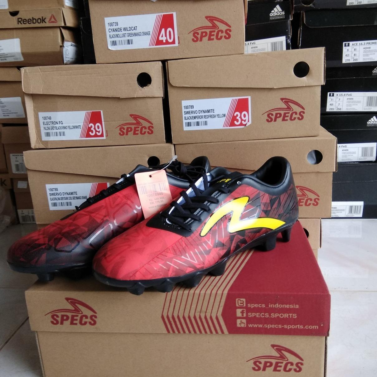 Fitur Sepatu Bola Specs Swervo Dynamite Fg Dan Harga Terbaru Bafana Lemon 4