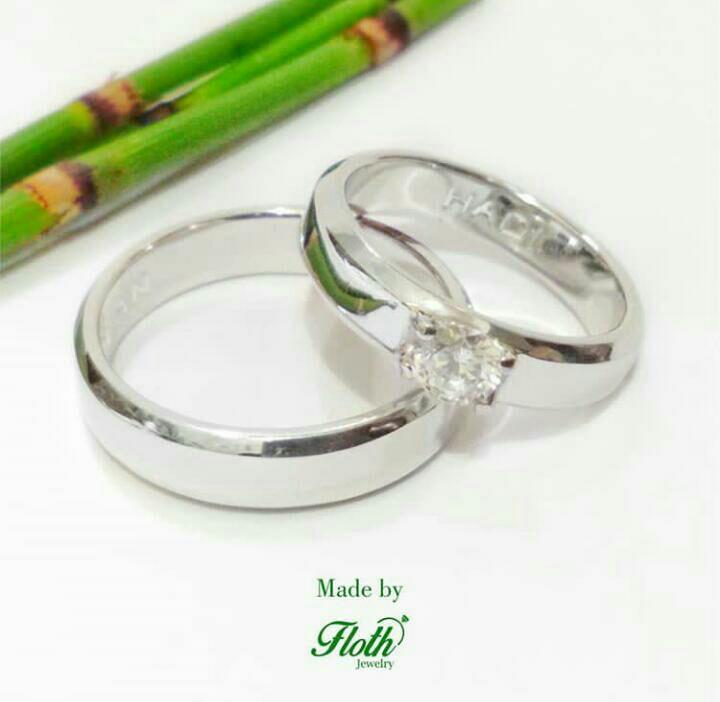 Cincin tunangan & pernikahan