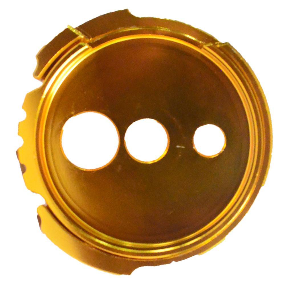 Detail Gambar KTC Tutup Kunci Kontak CNC Yamaha NMax - Gold - Aksesoris Motor - Variasi Motor Terbaik