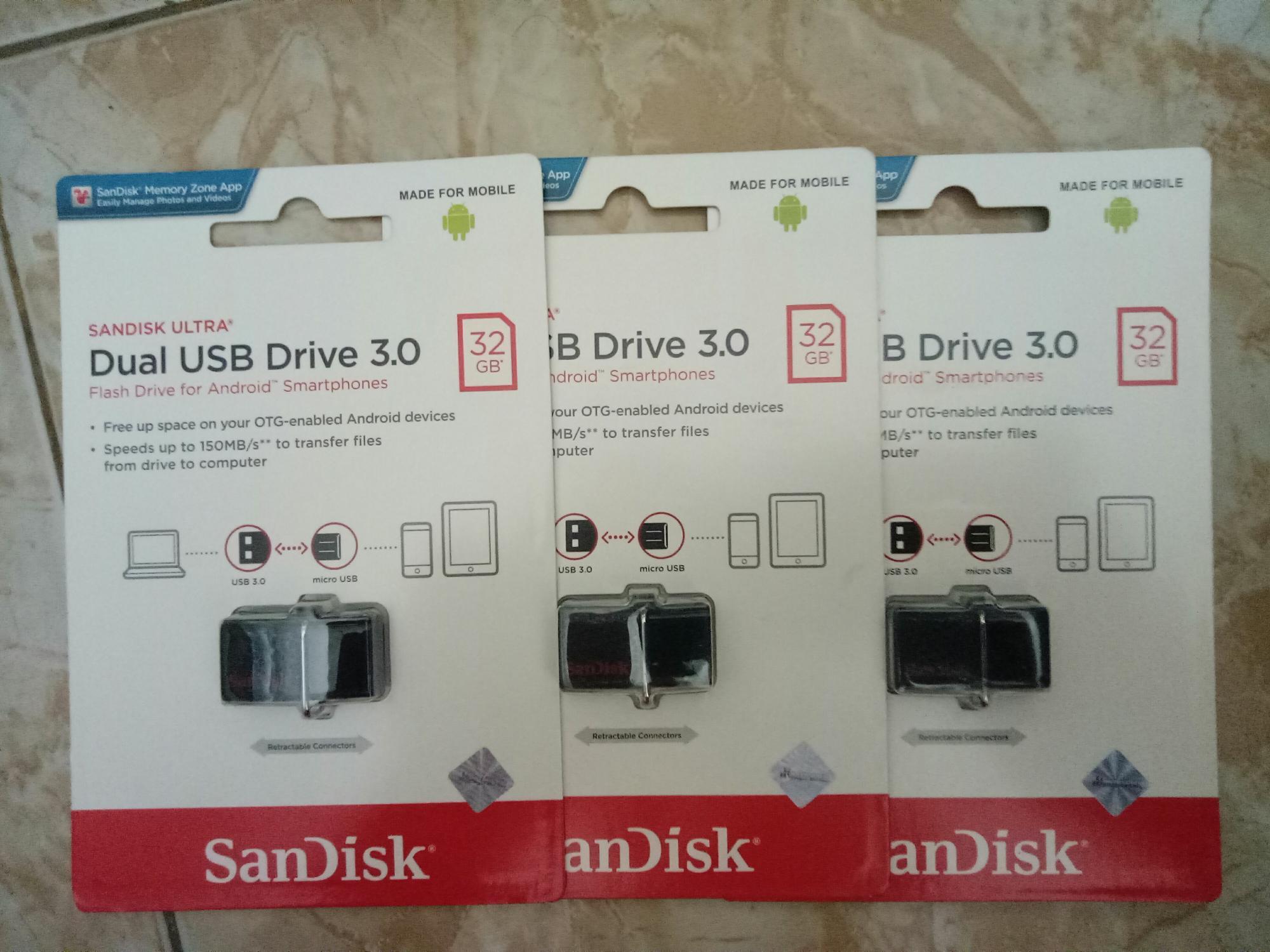 Kelebihan Sandisk Dual Drive 32gb Speed 150mbs Original Terkini Flashdisk Otg Garansi 5 Tahun Detail Gambar Terbaru