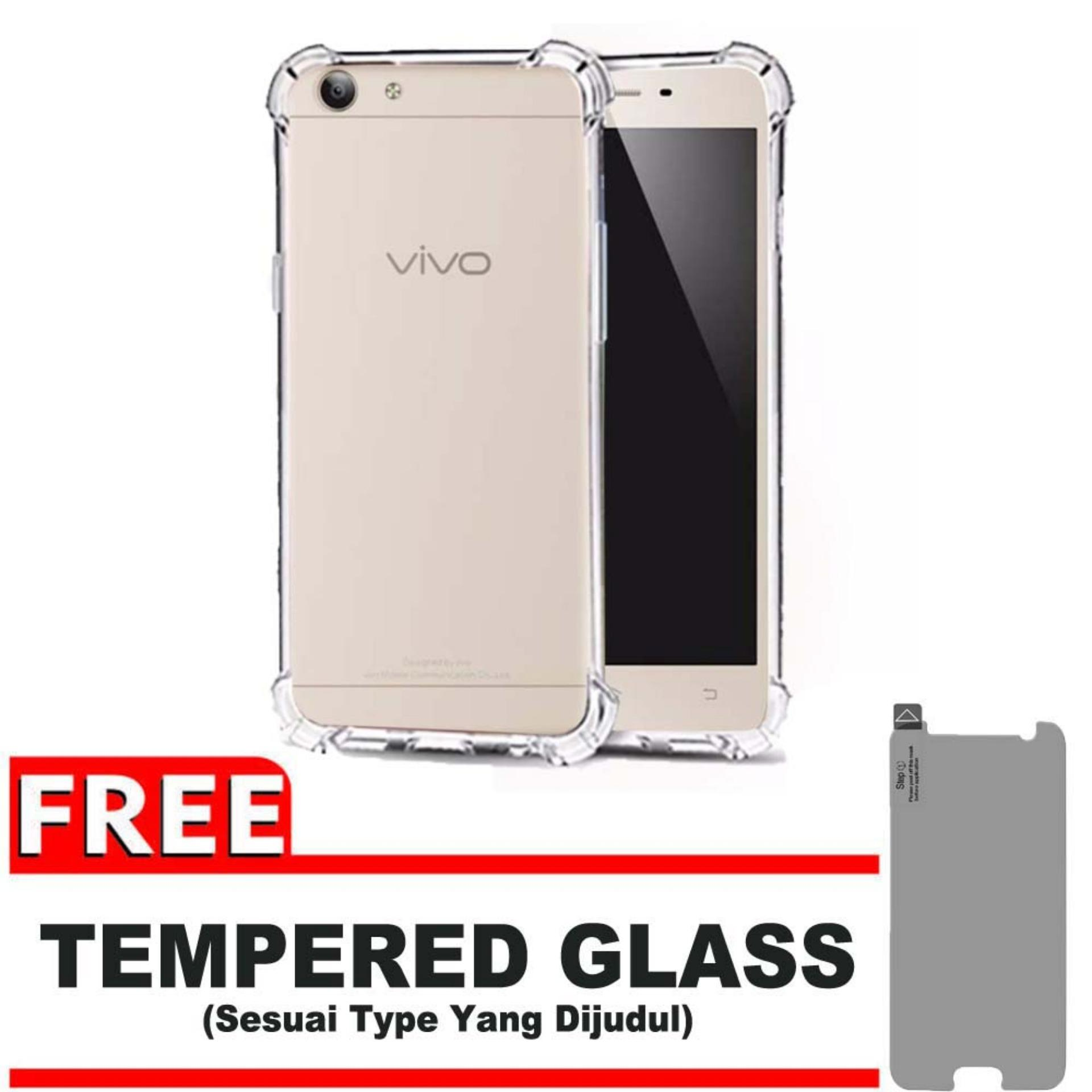 ShockCase for Vivo Y53 / Y53L / Y53S / Y53T | Premium Softcase Jelly Anti Crack