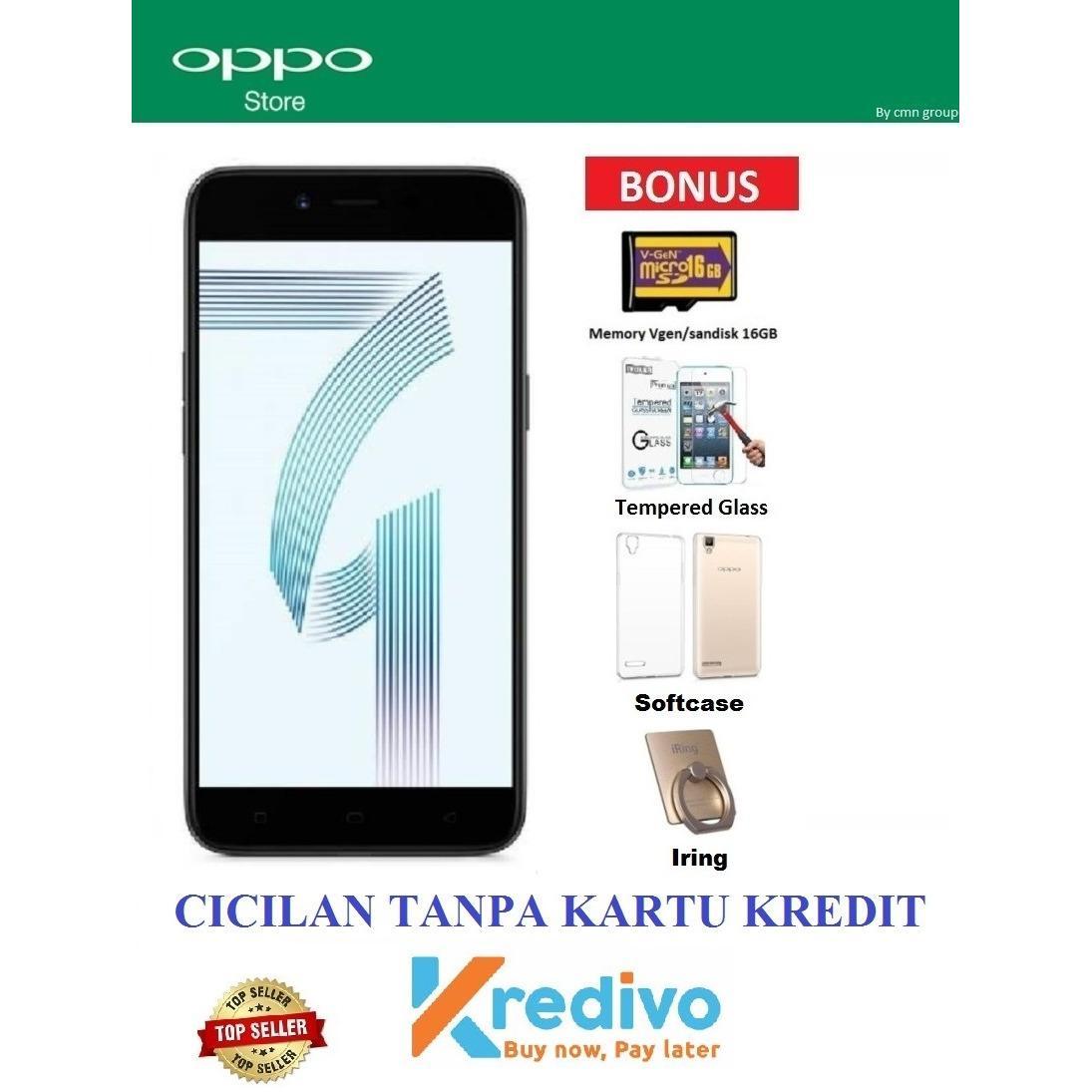 Oppo A71 Ram 3/32GB - Cicilan Tanpa Kartu Kredit - Bonus 4 Items