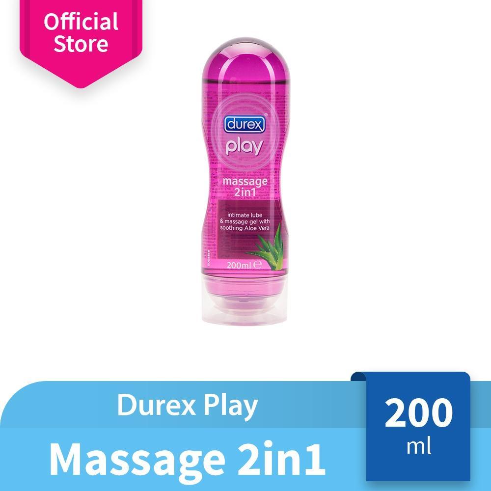 Toko Durex Play Massage 2 In 1 Lubricant Tube 50Ml Pelumas Bahan Dasar Air Dengan Ekstrak Aloe Vera Terlengkap