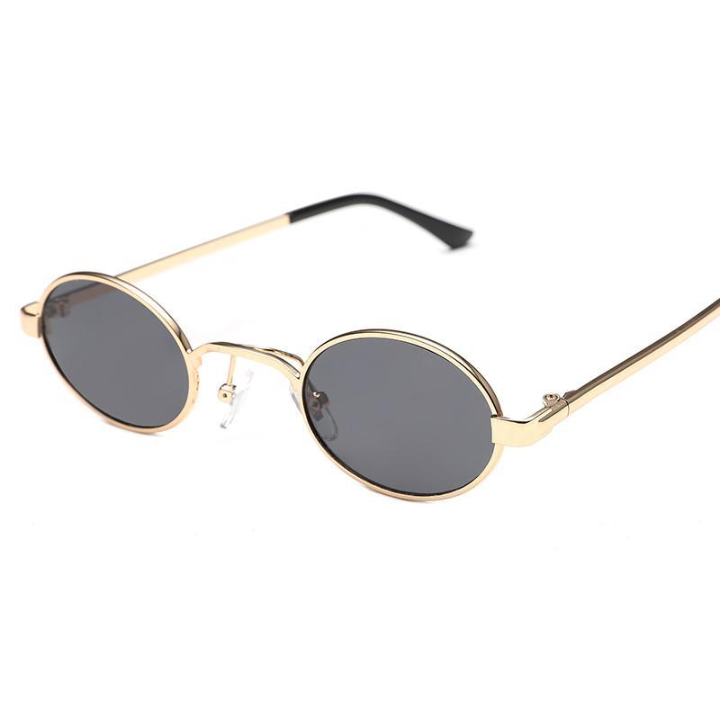 Kacamata hitam wanita pasang Model artis kacamata 2018 model baru Bundar  kepribadian perempuan kacamata hitam Pria 11c8377420