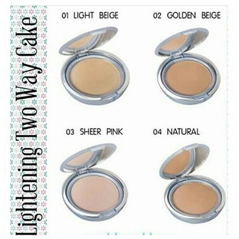 Wardah Lightening Two Way Cake Light Feel 04 Natural Daftar Harga Refill 03 Twc Bedak Padat Powder